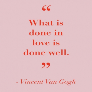 """""""What is done un love is done well."""" 🎨❤️ Vincent Van Gogh  #artlove #artlover #quoteoftheday #quotes #inspiration #love #art"""